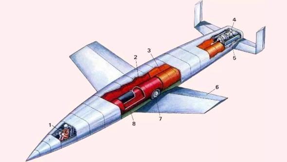 עיצוב המעבורת של זאנגר, צילום: aircraftgabes