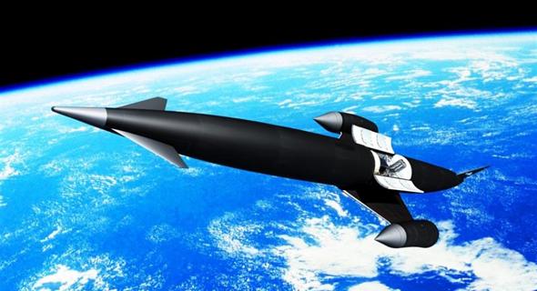 מטוס הסקיילון, עיצוב קונספט, צילום: SEN