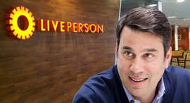 Liveperson CEO Rob Locascio. Photo: LivePerson