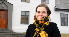 """ר""""מ איסלנד, קתרין יאקובסדוטיר, צילום: בלומברג"""