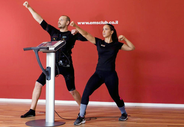 אימון גופני ברשת EMS club , צילום: tom zvili