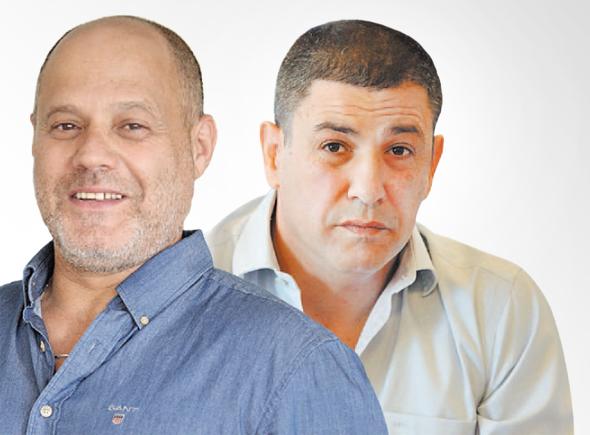 מימין: אליאב בן שמעון ועופר זרף