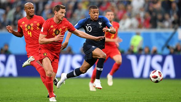 שחקני בלגיה. יסתפקו בחצי הגמר, צילום: גטי אימג