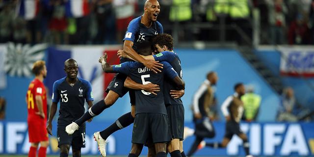 אדום, כחול, נקי. שער נקי: כך עלתה צרפת לגמר המונדיאל