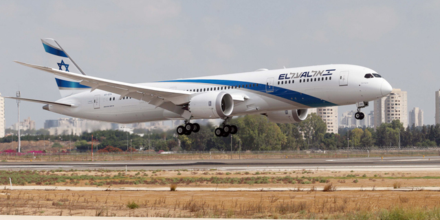El Al airliner. Photo: Sivan Farag