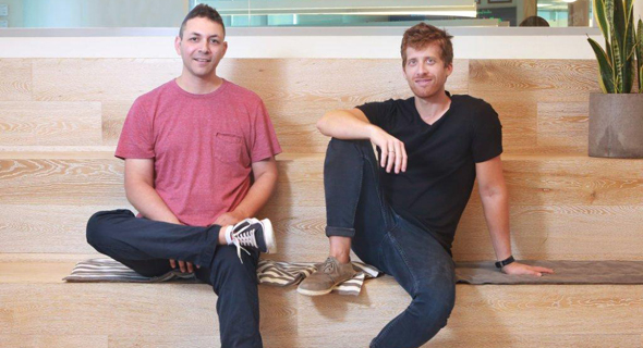 Monday.com co-founders Roy Man (left) and Eran Zinman. Photo: PR