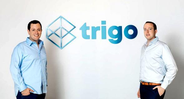 מיימין: דניאל גבאי ומיכאל גבאי. מייסדי Trigo vision