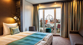 חדר מלון motel one וינה אוסטריה , צילום: Motel One