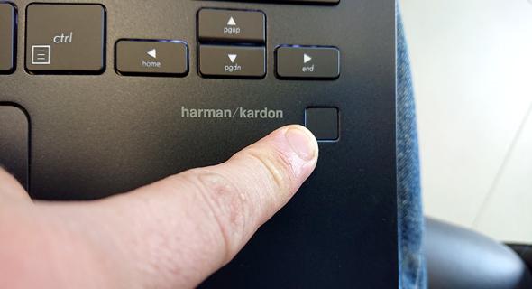 סורק טביעת האצבע של המחשב