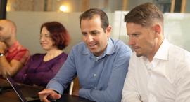 Auroa Labs co-founders Zohar Fox and Ori Lederman. Photo: Bar Stefansky