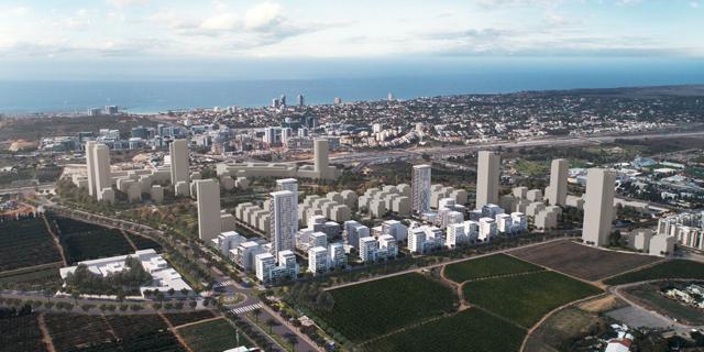 אושרה בניית כ-1,700 דירות בצפון-מערב רמת השרון