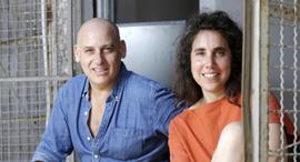 מימין: עדי אנגלמן ועומר קריגר , צילום: עמית שעל