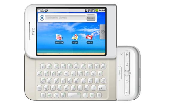 מכשיר האנדרואיד G1, שנקרא Dream בחלק מהשווקים