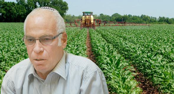 שר החקלאות אורי אריאל. חתם על הדוח שאישר העברה לא חוקית של כספים