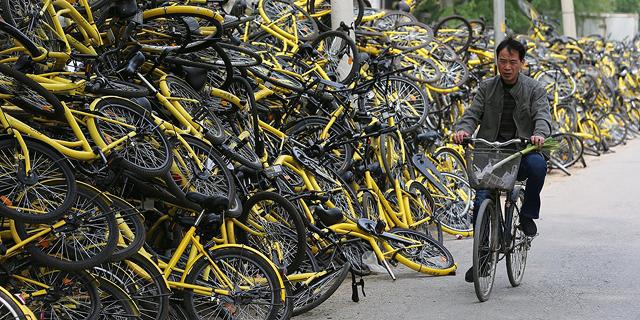 כישלון שיתוף האופניים במערב צפוי לעזור לילדים בעולם השלישי