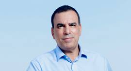 עמוס גניש מנכל טלקום איטליה, צילום: עמית שעל