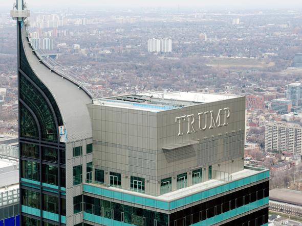 מגדל טראמפ טורונטו, צילום: National Post