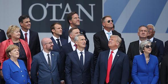 מנהיגי ברית נאטו, השבוע בבריסל
