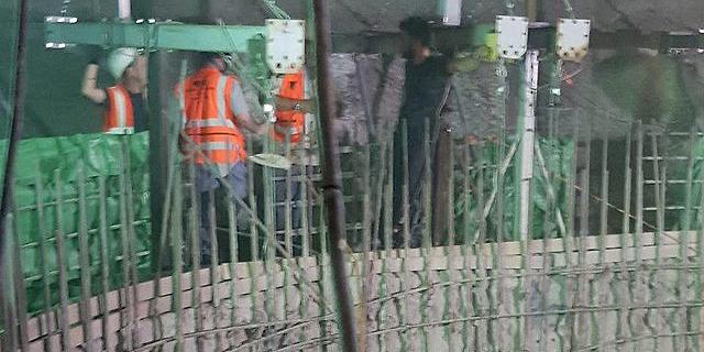 באופן חריג: המשטרה סגרה את אתר הבנייה של תחנת הכוח בגלבוע ל-25 יום