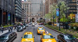 מוניות בניו יורק, צילום: גטי