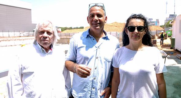 (מימין) אלה בן-נון, דני סרוסי, משה צור