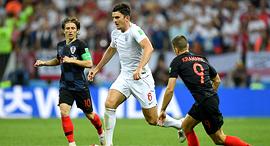 הארי מגווייר נבחרת אנגליה לוקה מודריץ' נבחרת קרואטיה מונדיאל 2018, צילום: גטי אימג'ס