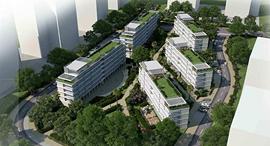 הדמיית מתחם ההסתדרות ב גבעתיים, צילום: אדריכלים רותי הרשקוביץ ואמנון בר אור