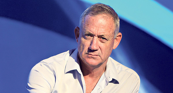 Former chief of staff Benny Gantz. Photo: Alex Kolomoisky