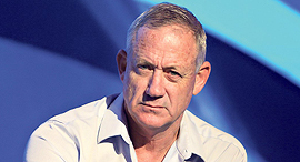 Benny Gantz. Photo: Alex Kolomvisky