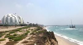 מצוק החוף באשקלון , צילום: גדי קבלו
