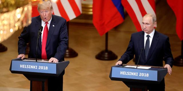 פוטין לצד טראמפ: סיכמנו להבטיח את גבול ישראל-סוריה