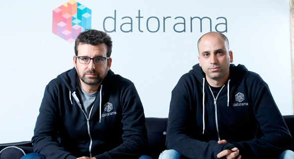 Datorama founders Ran Sarig (left), and Efi Cohen (right). Photo: Amit Sha'al