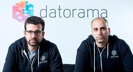 אפי כהן (מימין) ורן שריג, מייסדי דאטורמה, צילום: עמית שעל
