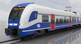 רכבת ישראל קרונות חשמליים, צילום: רכבת ישראל