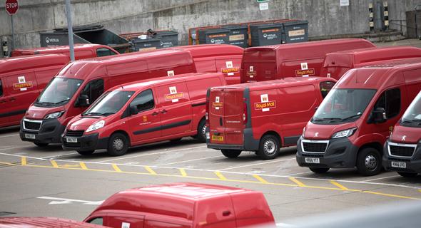 רכב של הדואר הבריטי