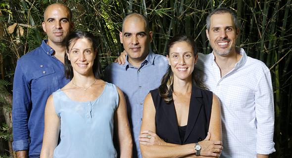 Lumen's founding team. Photo: Amit Sha'al