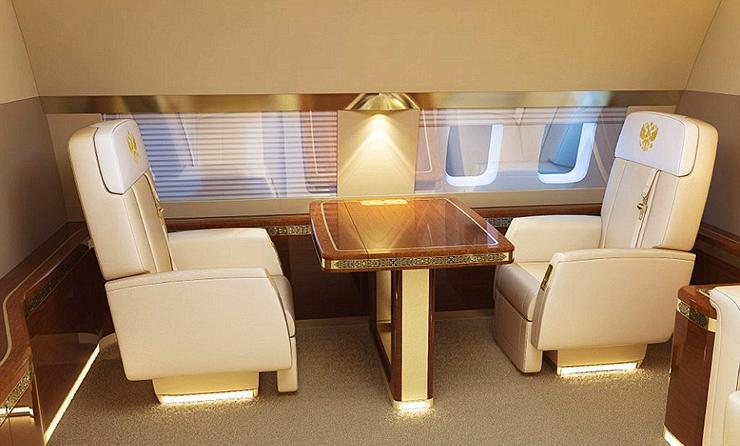 המטוס הנשיאותי של פוטין