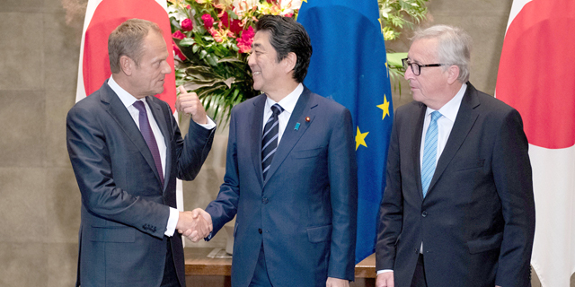 לא סופרות את טראמפ: אירופה ויפן ביטלו 99% ממסי הסחר