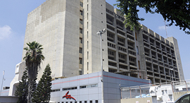 בנין הדואר המרכזי ב תל אביב דואר ישראל, צילום: עמית שעל