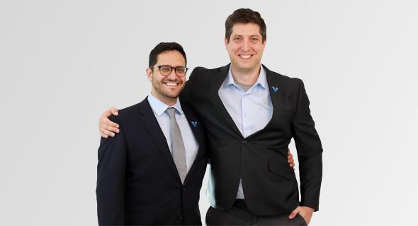 Viz.ai co-founders Chris Mansi and David Golan. Photo: Nicole Ellen