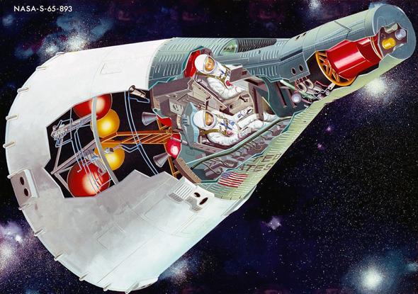 חתך חללית ג'מיני