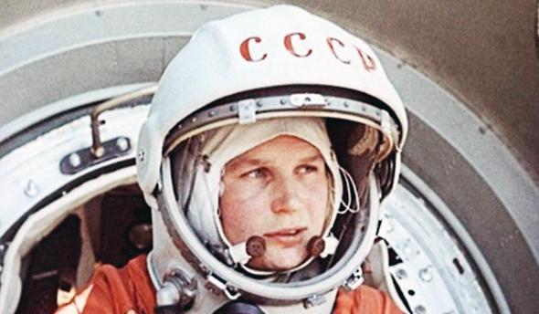 הקוסמונאוטית הרוסית ולנטינה טרשקובה