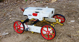 RSTAR search and rescue robot. Photo: Ben-Gurion University of the Negev