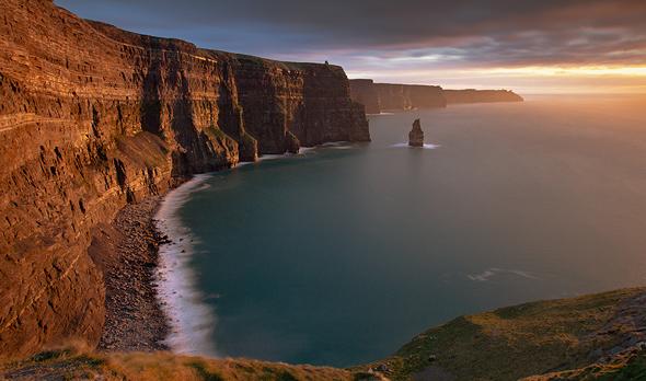 Cliffs of Moher, Ireland. Photo: Shutterstock