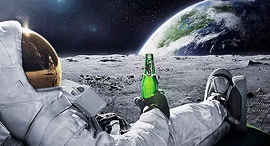חופשה על הירח, צילום: beerlantern