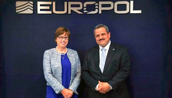 Catherine De Bolle and Ronern Alsheich. Photo: Europol