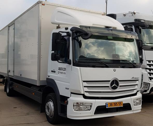 """המשאית החדשה של צה""""ל"""