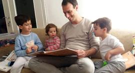 פנאי עודד חצבני וילדיו