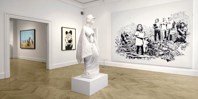 חדשות האמנות: השיא של בנקסי וקווין בי רוצה את הקוליסאום