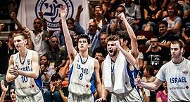 נבחרת העתודה של ישראל ב כדורסל, צילום: ynet